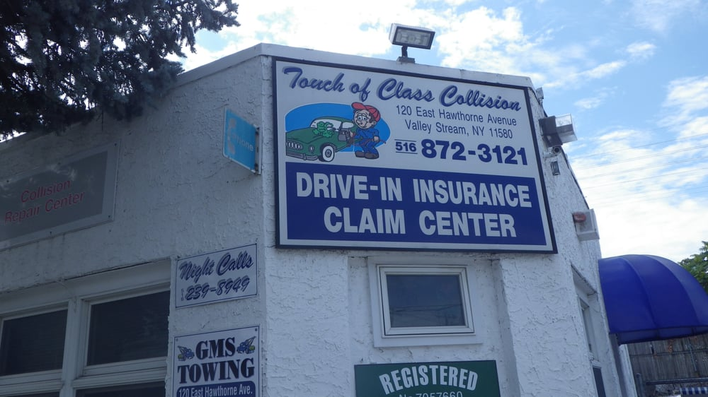 Touch of Class Collision: 120 E Hawthorne Ave, Valley Stream, NY