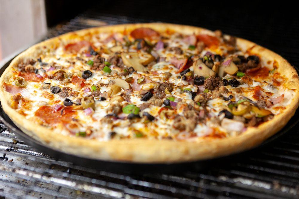 Pizza Inn: 200 S Interstate 35 Rd, Red Oak, TX