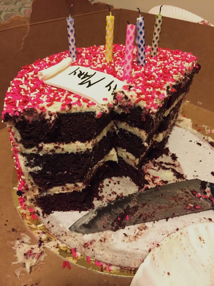 Red Velvet Birthday Cake For My Roommate Pt 2 Yelp