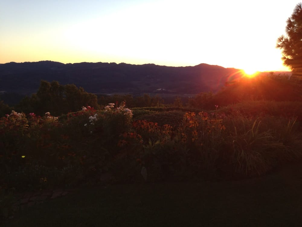 Sunset Point: Angwin, CA