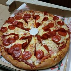 photo of valerios restaurant erie pa united states medium pepperoni pizza