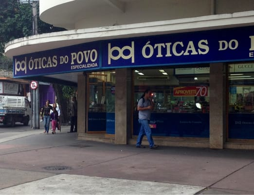 61dbc46186da5 Óticas do Povo - Óticas - R. General Roca 661, Tijuca, Rio de ...