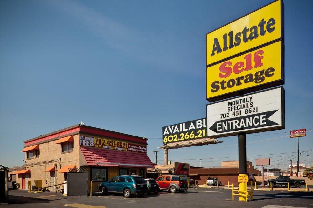 Allstate Self Storage Fechado Servi 231 O De Armazenagem