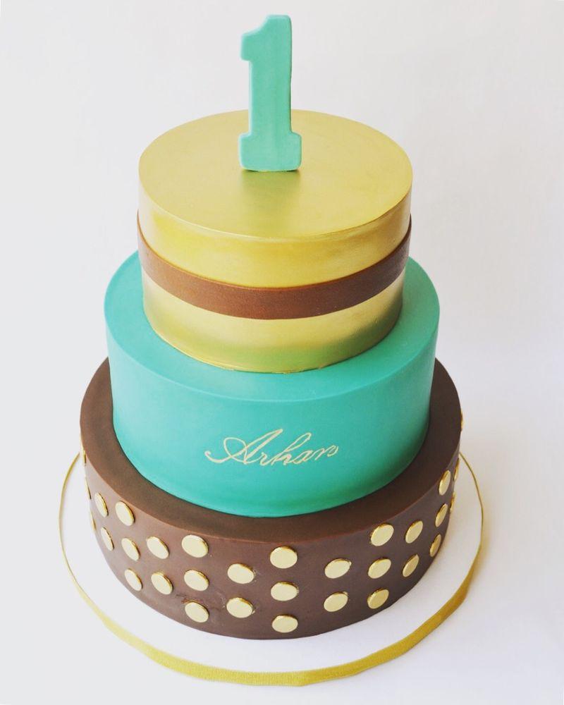 Kristen Made My Son Arhans 1st Birthday Cake Loved It Yelp