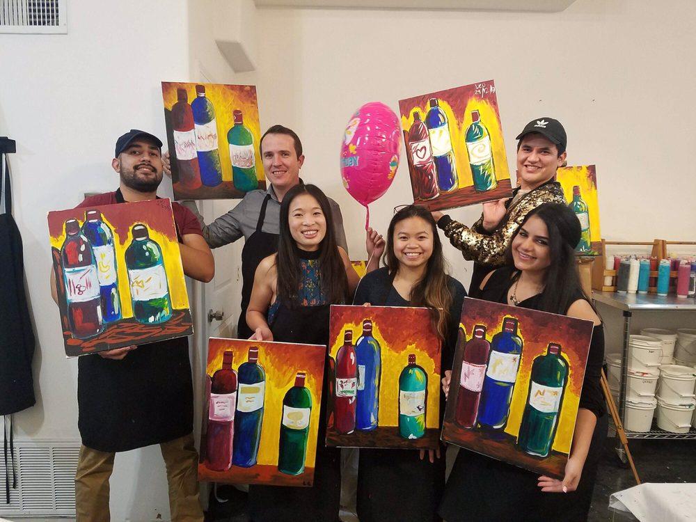 Splash Painting and Wine: 1208 W Gray St, Houston, TX