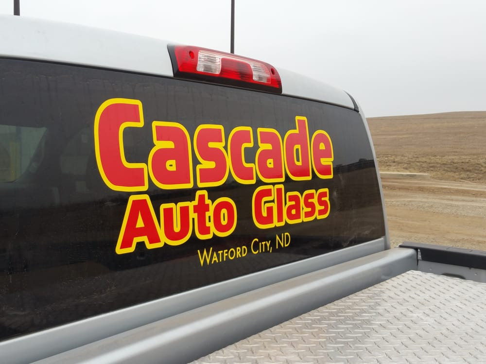 Cascade Glass & Signs: 1400 4th Ave NE, Watford City, ND