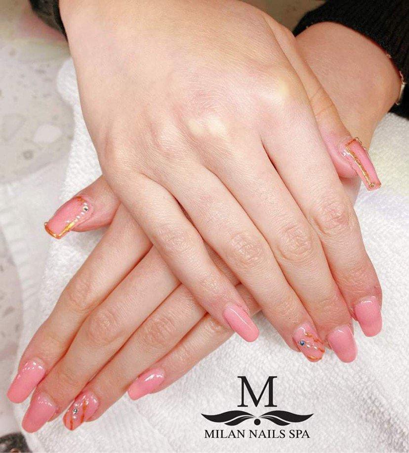 Milan Nails Spa: 2305 Edgewater Dr, Orlando, FL
