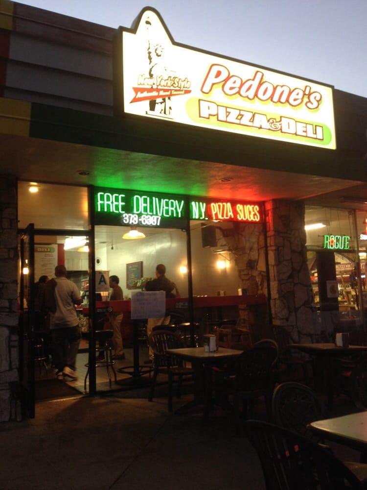 Pedone S Pizza Deli Redondo Beach Ca