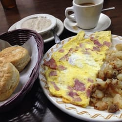 Photo Of John S Country Kitchen Charlotte Nc United States Ham Cheese Omelet