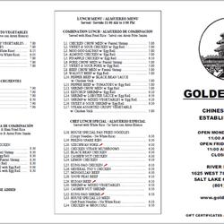 Golden Pearl Chinese Restaurant Salt Lake