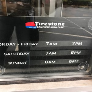 Firestone Hours Sunday >> Firestone Complete Auto Care 2019 All You Need To Know