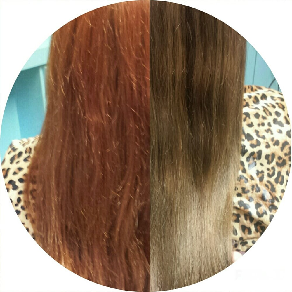 From Red To Ash Color Correction Yelp