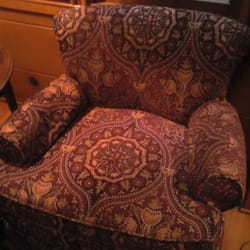 Photo Of Sofa Interiors   Glendale, CA, United States. Chenille Arm Chair (