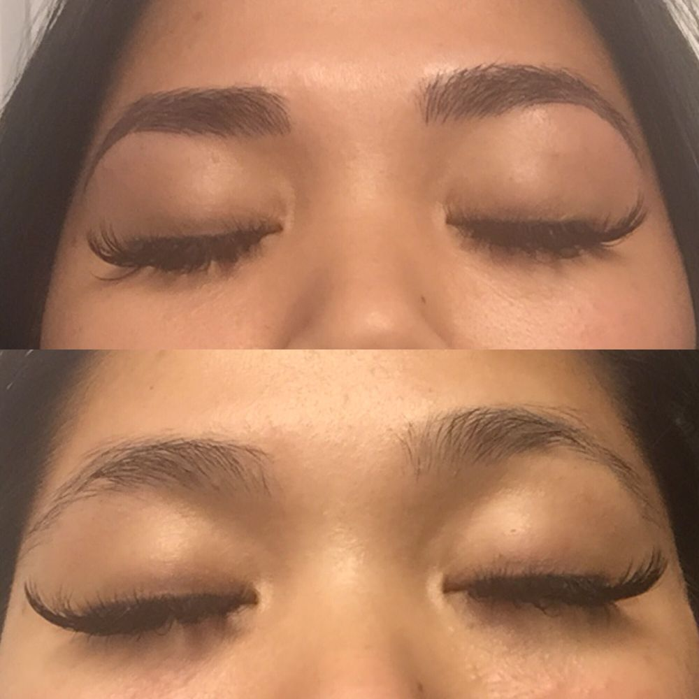 Microblading By Lina Just Look At The Perfect Strokes I Love My