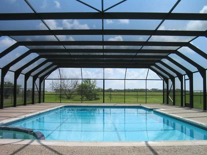 Pool patio enclosures screen repair south florida for Pool enclosure design software
