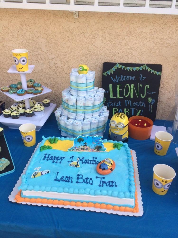 A fun minion cake for a fun party Yelp
