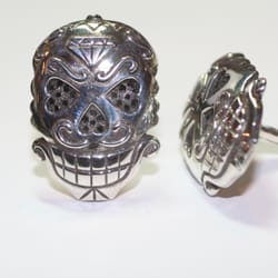 Photo Of Little King Jewelry New York Ny United States Sugar Skull