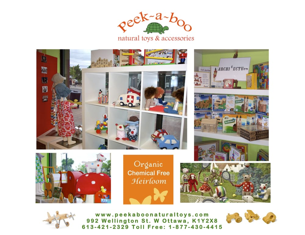 6198f325950 Peek-a-boo Natural Toys   Accessories - Toy Stores - 992 Wellington Street  W