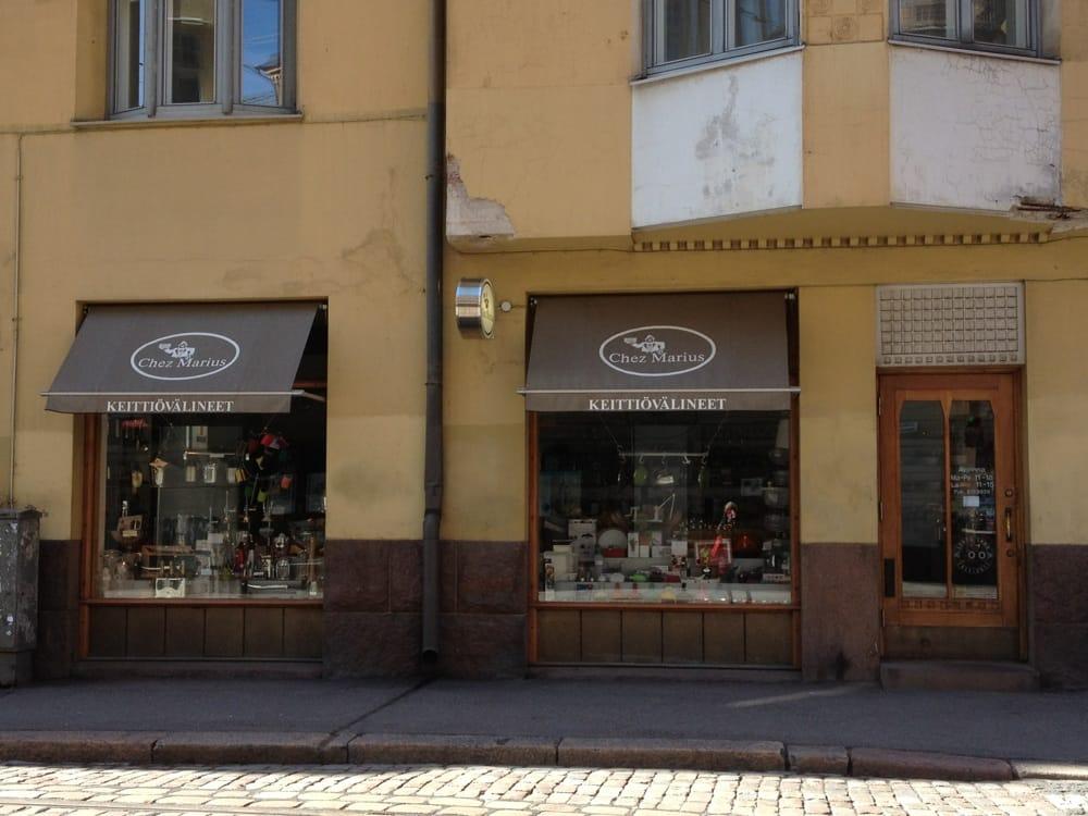 Chez Marius  10 kuvaa  Keittiö ja kylpyhuone  Fredrikinkatu 26, Kamppi, He