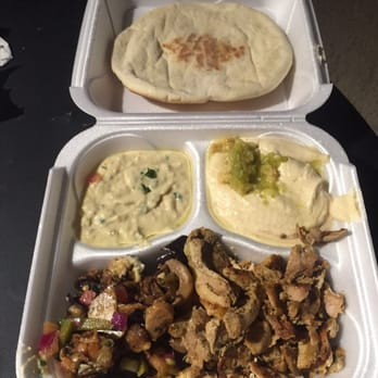 Photo Of Pita House   Columbus, OH, United States. Chicken Shawarma Plate  With