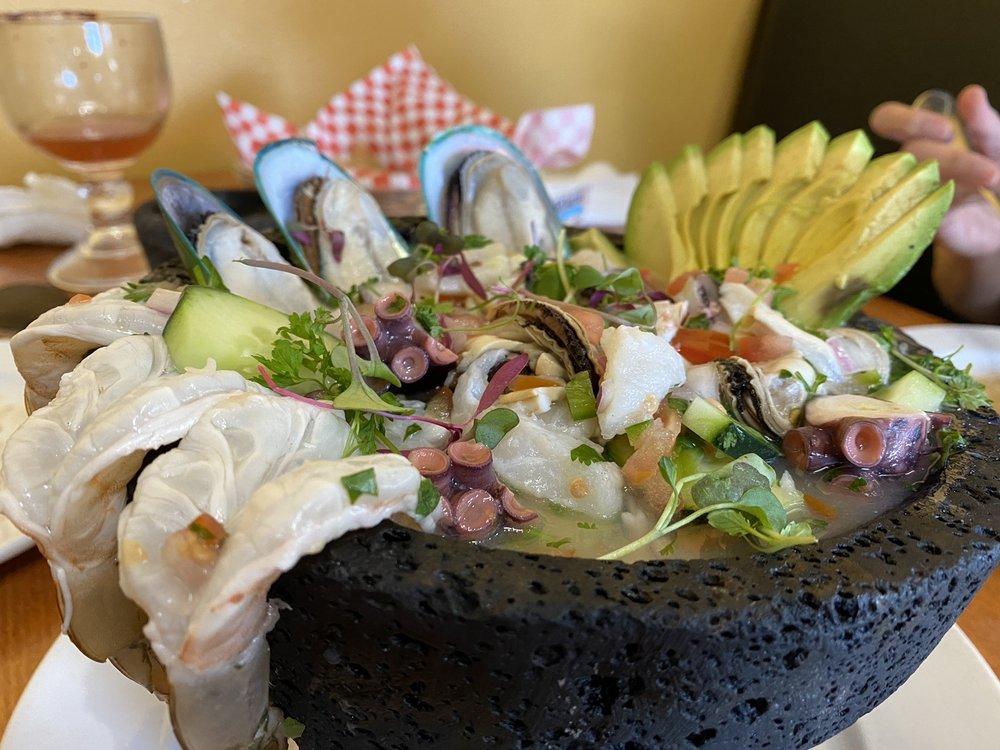 Molcajetes Steak and Seafood: 789 N Main St, Bishop, CA