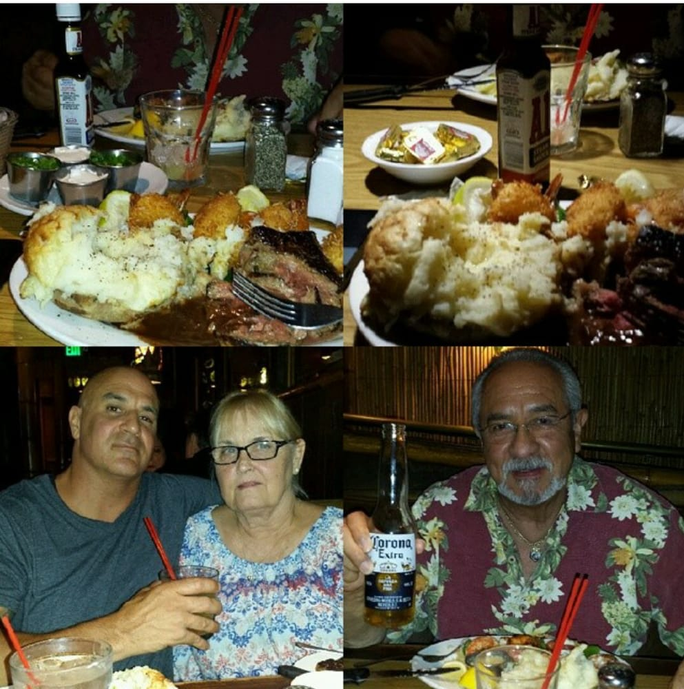 Birthday Dinner With Drinks Friday Night With Mom And Pop
