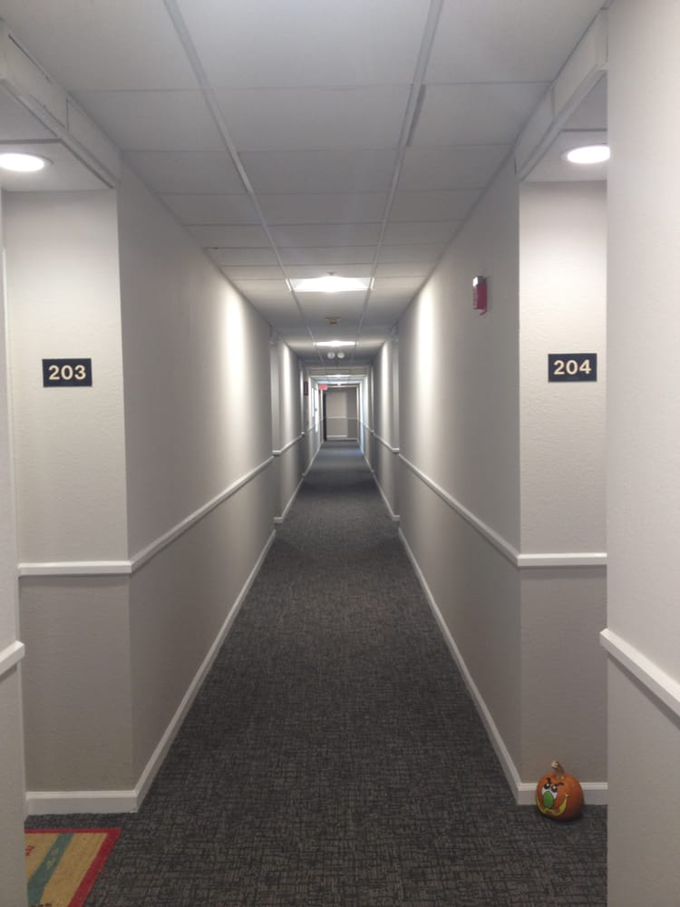 Floors Of Hallways Done In Cupertino Apartment Building Yelp