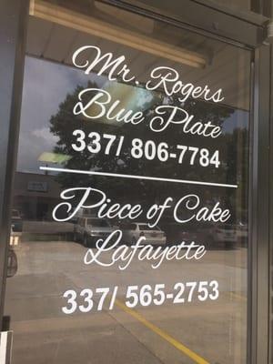 Mr  Rogers Blue Plate - CLOSED - Desserts - 1507 Kaliste