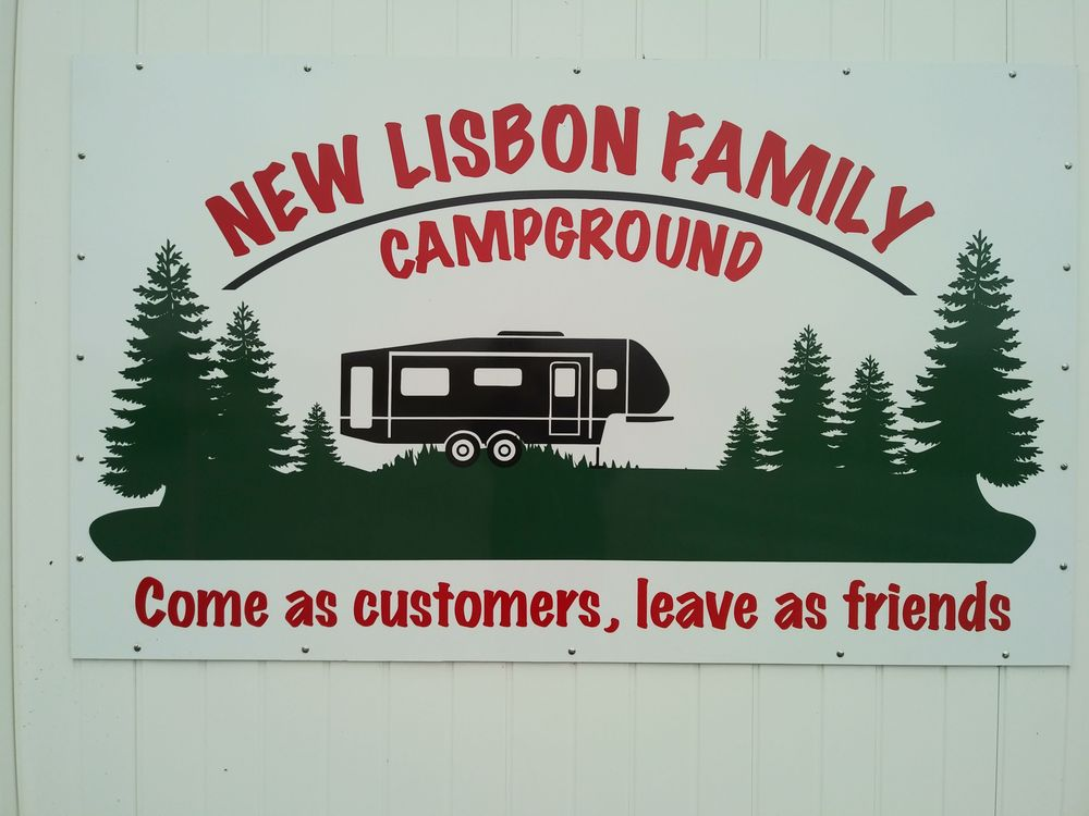 New Lisbon Family Campground: 6888 E County Rd 600 S, Straughn, IN