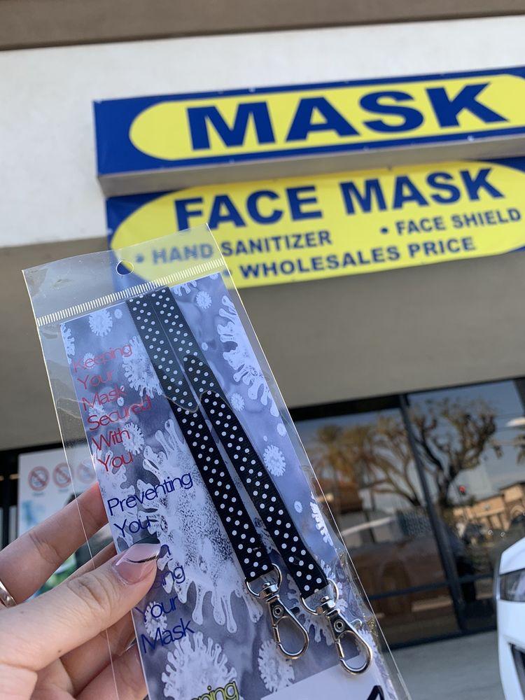 Mask: 1251 S Beach Blvd, La Habra, CA