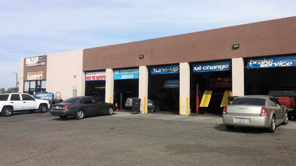 S J Auto Repair Rental Gas Stations 7329 W Indian