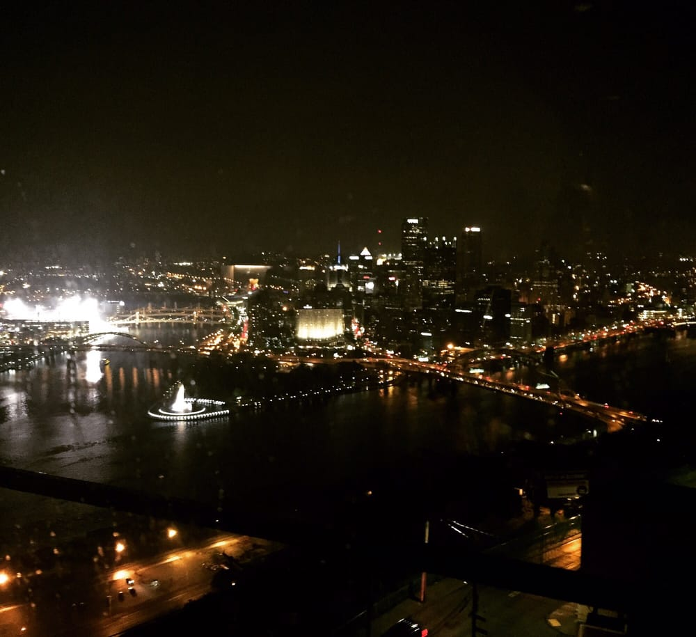 Night view from the restaurant was super good yelp for Monterey bay fish grotto pittsburgh pa