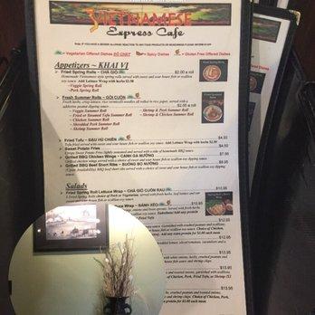 Vietnamese Express Cafe North Palm Beach Fl
