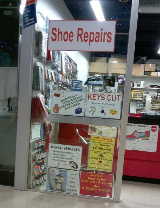 Photo Of Quickfix Shoe Repairs Atrium Engraving Auckland New Zealand Repair
