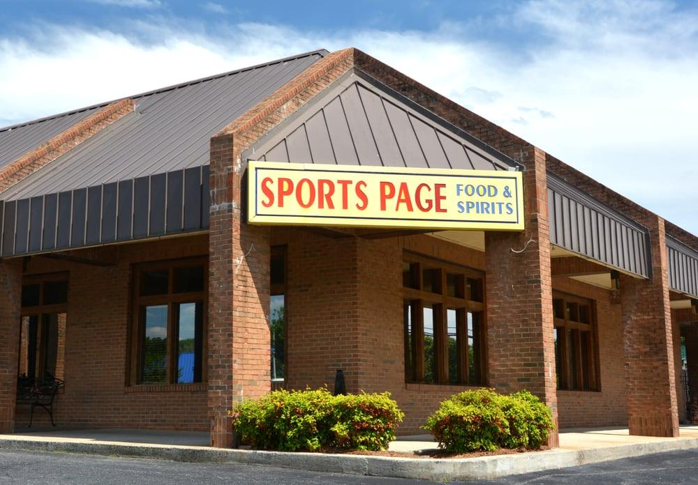 Sports Page Food & Spirits