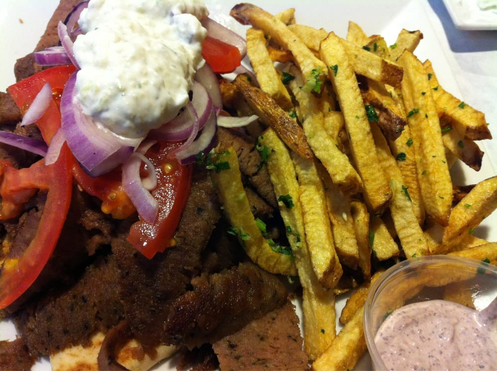 how to cook lamb meat for gyros