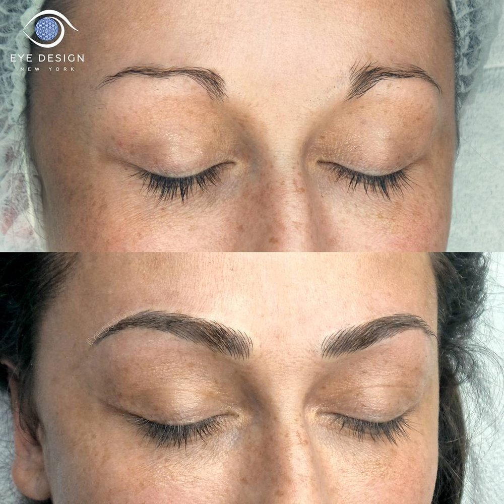 Eye design studio 137 photos 125 reviews eyelash for Eyebrow tattoo aftercare instructions