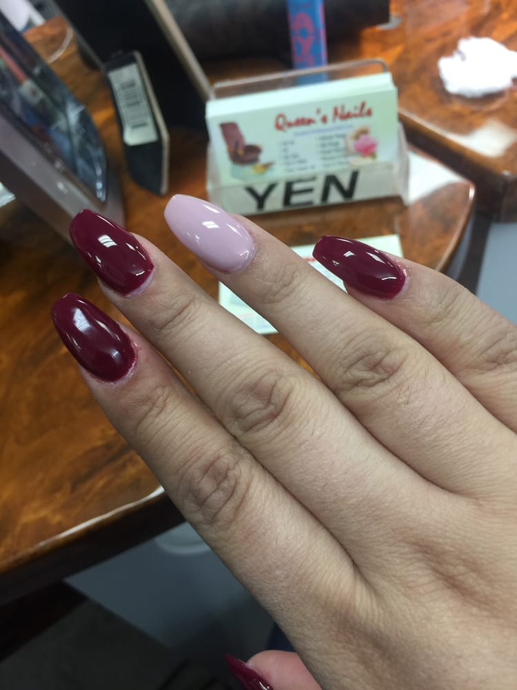 Coffin nails with colors that are perfect for fall - Yelp