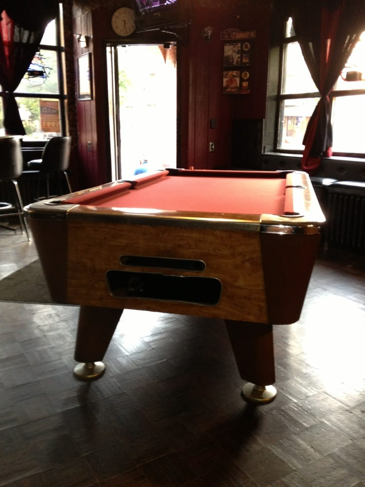 Delicieux Close Up Of 1 Of Pool Tables   Yelp