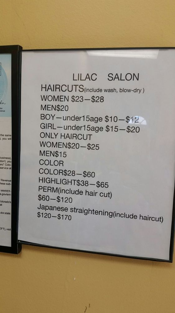 Lilac Salon: 830 S Sheridan Blvd, Denver, CO