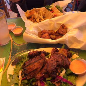 Photo Of Primo Patio Cafe   San Francisco, CA, United States. Jerk Chicken