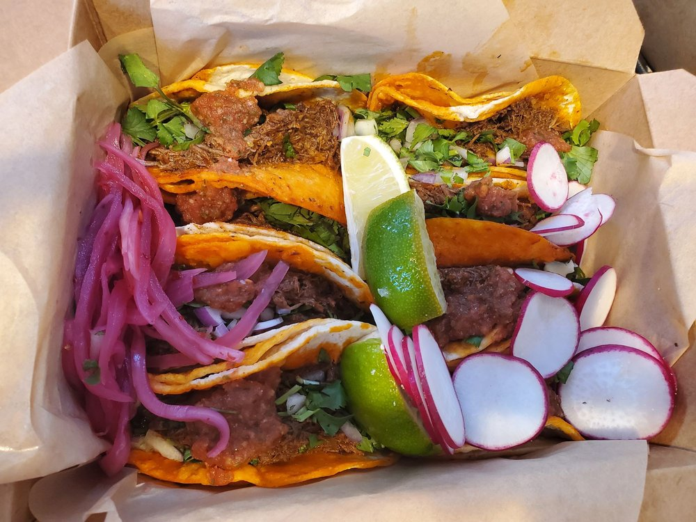 Food from Fuego Birria