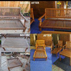 Photo Of Furniture Medic   Houston, TX, United States. Outdoor Furniture  Refinished