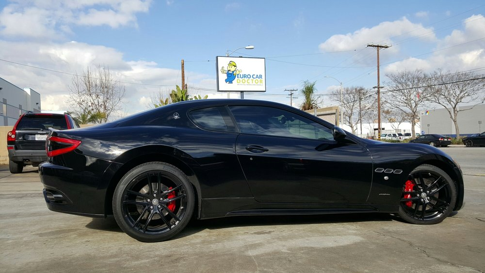 2013 Grantourismo Maserati Just In For Suspension Service And A