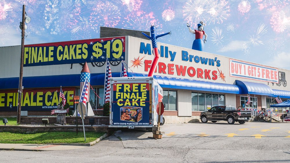 Molly Brown's Fireworks
