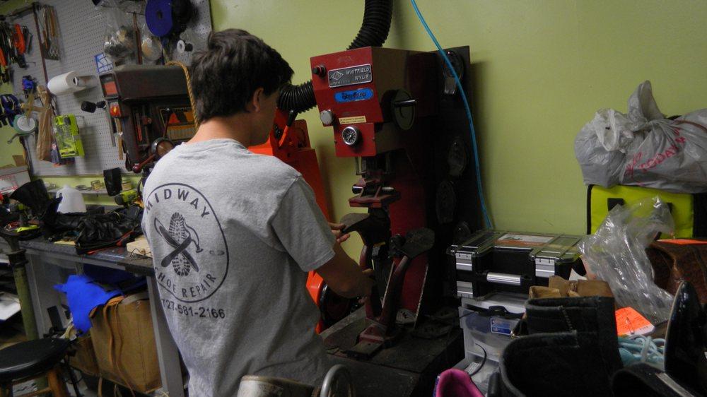 Midway Shoe Repair: 471 Seminole Blvd, Largo, FL