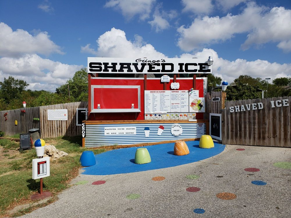 Gringos's Shaved Ice: 2260 Old Zorn Rd, San Marcos, TX