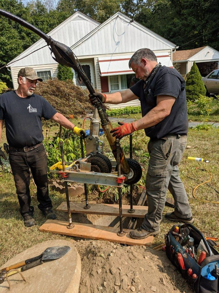 martin plumbing & well pump service: 12 Burleson Ln, Jewett City, CT
