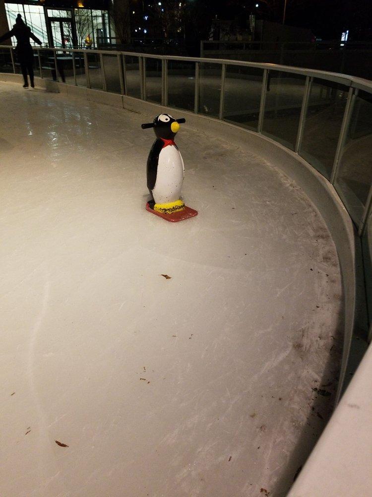 Pentagon Row Outdoor Ice Skating Plaza