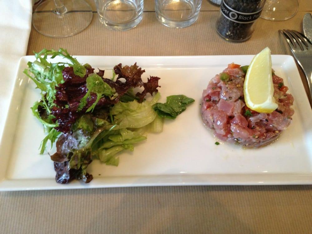 Tartare de thon yelp - La table d aligre ...